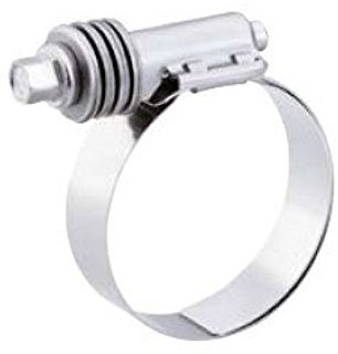 (10 Pack Breeze 9428 Aero-Seal Liner Clamps with Stainless Screw Effective Diameter Range: 1-5/16