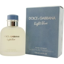 Light Blue for Men ~ Dolce Gabbana 2.5 oz Eau de Toilette - Blue Toilette Light De Gabbana Eau Dolce