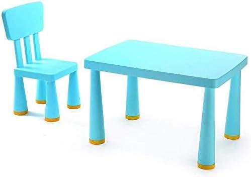 MJK Juego de sillas de mesa Niños Niñas Escritorio Niños pequeños ...