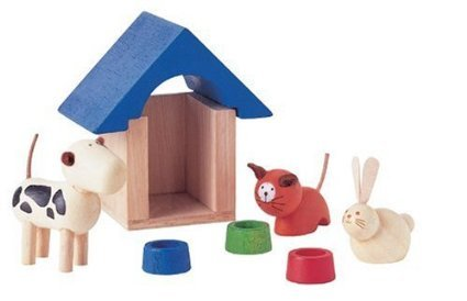 Price comparison product image Plan Toys 39731400 - Haustiere by Plan Toys