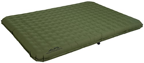 Alps Sleeping Pad - ALPS Mountaineering 7632117 Velocity Air Bed (Queen)