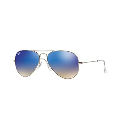 073a743cf6 30%OFF Ray-Ban Mens Original Aviator Sunglasses (RB3025) Silver Matte