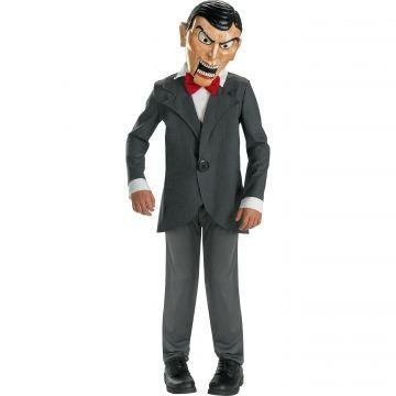 Goosebumps Characters Costumes (Goosebumps Slappy Deluxe Child Costume)