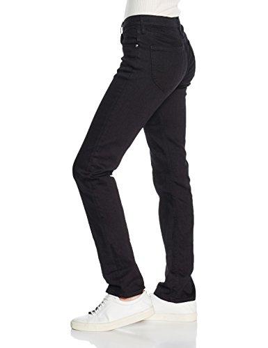 Rinse Lee Black Droit Noir Marion Jeans Femme nvRYfq