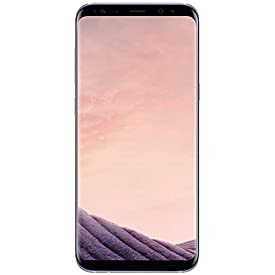 Samsung Galaxy S8 G950U 64GB Unlocked GSM U.S. Version Phone – w/ 12MP Camera – Orchid Gray (Renewed)