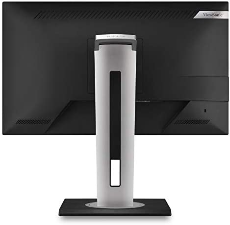 ViewSonic VG2455-2K 24 Inch IPS 1440p Monitor with USB 3.1 Type C HDMI DisplayPort and 40 Degree Tilt Ergonomics for Home and Office,Black