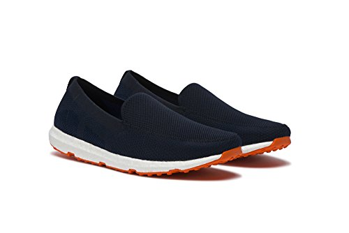 SWIMS Breeze Leapknit In Navy-Orange, Size 8 by SWIMS (Image #2)