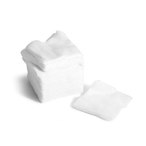 MediChoice Gauze Sponge, 16-Ply, USP Type VII, Non-Sterile, 4x4 inch, White, 1314GZ74503 (Case of 2000)