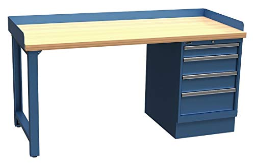 Lista Single Pedestal Bench, 72