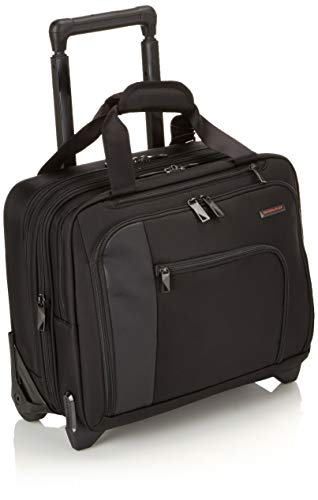 (Briggs & Riley Propel Expandable Rolling Case, Black, One Size)