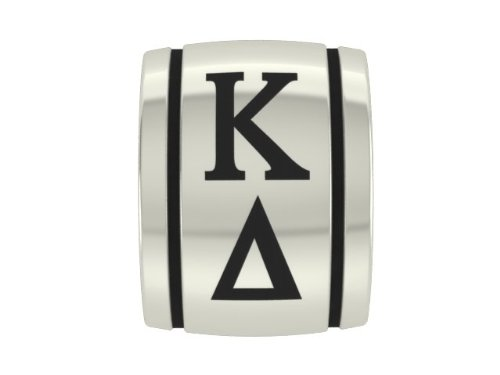 Kappa Delta Barrel Sorority Charm Fits Most European Style Beaded Charm Bracelets