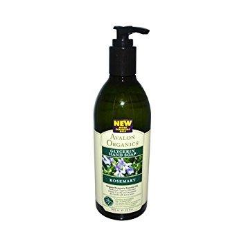 Avalon Organics Rosemary Liquid Glycerin Hand Soaps 12 fl. oz. (a)