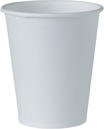 Solo Foodservice 404-2050 Water/Refill Cup, 4 oz, White (Pack of 5000) by Solo Foodservice