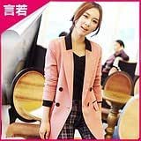 2013 spring Korean version of the new Slim small suit jacket female spring and autumn women's long section of small suit leisure suit