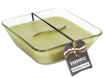 【メーカー直送】 グリーンマンダリンシトロネラ装飾ガラスMedium RibbonWick B07939QJTS Scented Candle RibbonWick – – アウトドアコレクション B07939QJTS, 高根村:6e5e23ba --- egreensolutions.ca