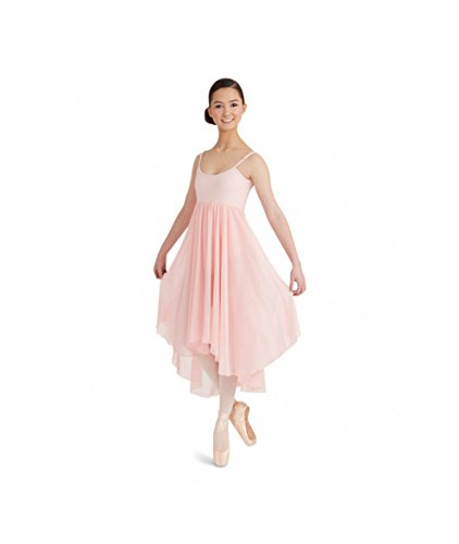 chiffon Rock Shell Kleid BG001 Cami Pink Capezio 6x4at