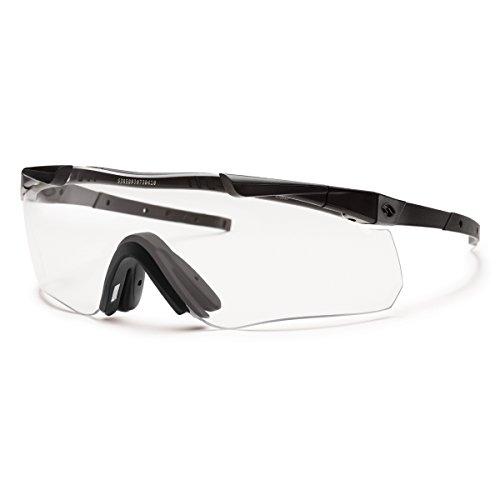 Smith Optics Elite Aegis Echo II Eyeshields Sunglass with Black Frame and Clear/Gray ()