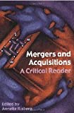 Mergers and Acquisitions, Annette Risberg, 0415364612