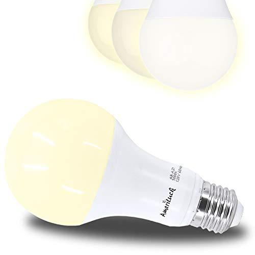 AmeriLuck 4000K Cool White 3-Way LED Light Bulb A21, 50-100-150W Equivalent, CRI80+, Omni-Directional (1 Pack)