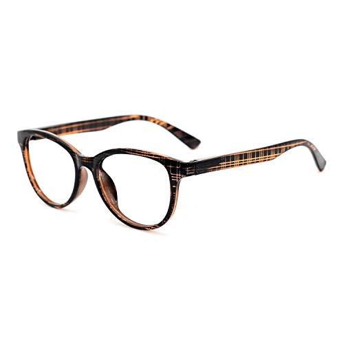 OCCI CHIARI Reading Glasses Plastic Men Women Comfort Prescription Eyeglasses (+1,+1.5,+2.0,+2.5,+3.0,+3.5,+4.0) Brown 200