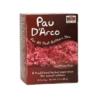 NOW Foods Paud'arco Tea - Natural Cures for Toenail Fungus
