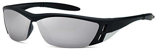Herren Damen Sonnenbrille Sportbrille Rad Brille Bikerbrille New Wayfarer Sport
