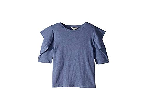- HABITUAL girl Girl's Megan Puff Sleeve Top (Big Kids) Navy 14