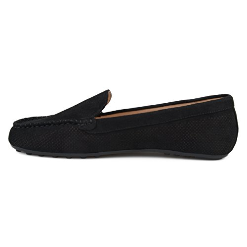 Cut Nubuck Sole Brinley Comfort Loafers Laser Faux Co Womens Black gXw0waxqp