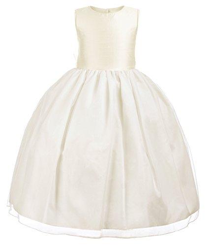 Ivory Silk Dress - 3