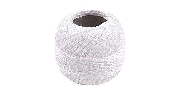 Perl\u00e9 Embroidery threadNasengarn black-color genuine 100/% cotton
