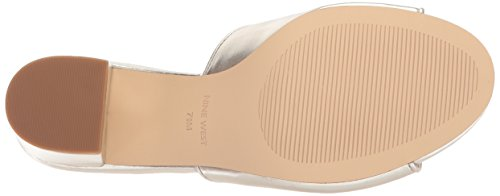 Nine West Women's Grevilea Synthetic Sandal Light Gold LQJBSEvyP4