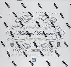 2016 Panini National Treasures Football Hobby Box