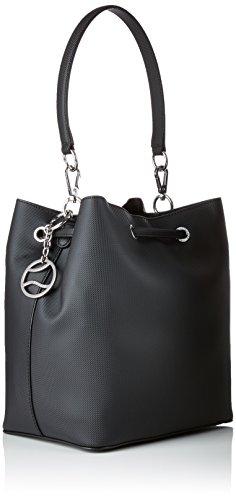 Nf2535dc Women's Shoulder Lacoste Bag Black qA65Hn