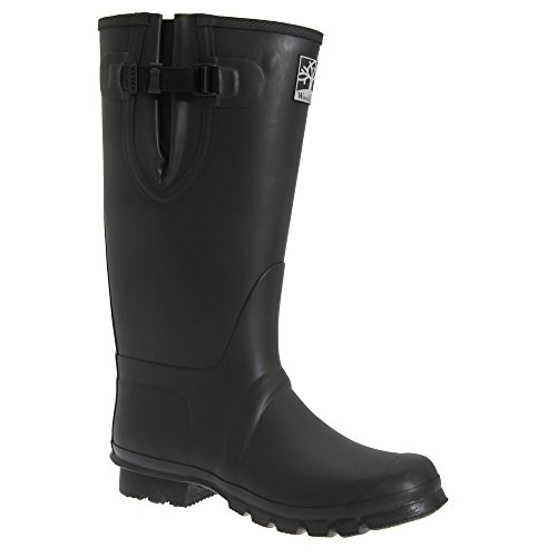 Gusset Boots Land Insulated Woodland Neoprene Unisex of Wellington Thermal Black Wood CqwXqz1
