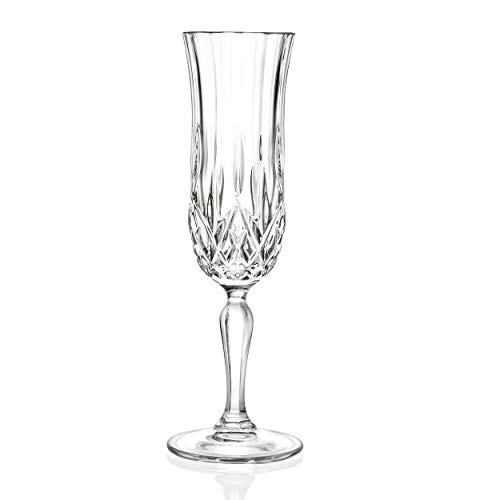 RCR Opera Crystal Champagne Glass, Set of -