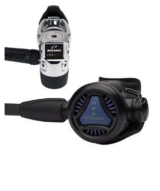 (Oceanic NEO CDX-5 Scuba Diving Regulator 1st & 2nd Stage 40.7596.07 Scuba Dive Divers Reg Set)