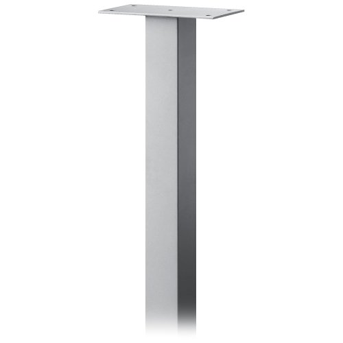 Salsbury Industries 4385SLV Standard Pedestal In-Ground Mounted for Roadside Mailbox, Mail Chest and Mail Package Drop, Silver