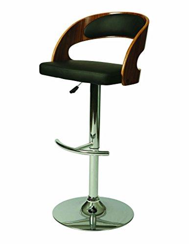 Pastel Furniture Yreka Hydraulic Barstool YR-219-CH-WA-979 ()