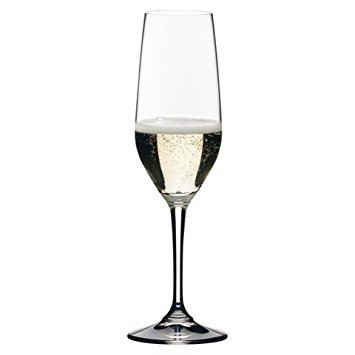 Riedel Accanto Champange Flutes, Set of 4, 10-1/4 Ounce ()