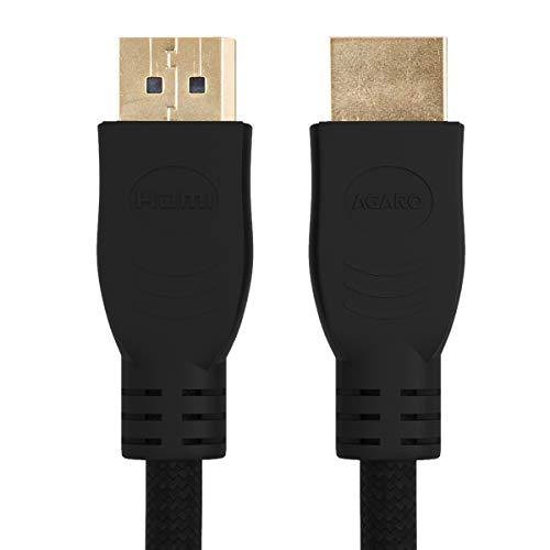 AGARO   33275 HDMI to HDMI V2.0 Nylon Braided 2M Cable