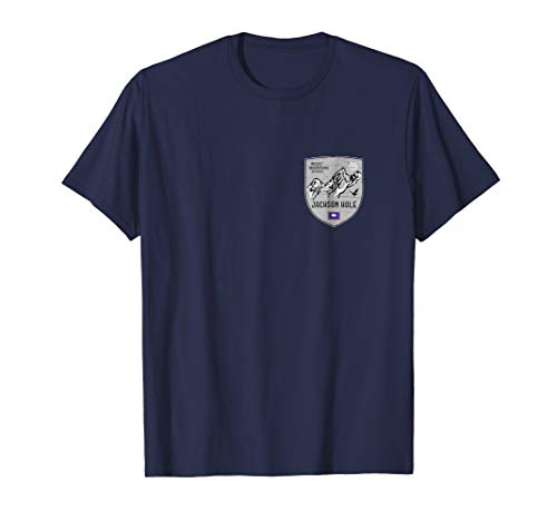 (Jackson Hole Mountain Wyoming Emblem Shirt)