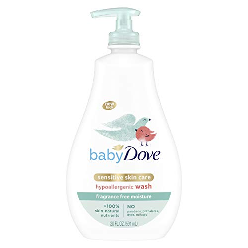 Baby Dove Sensitive Skin Care Baby Wash For Baby Bath Time Fragrance Free Moisture Fragrance Free and Hypoallergenic…