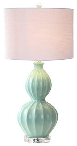 Green Lamp Table Dark (JONATHAN Y JYL5015A Faye 28