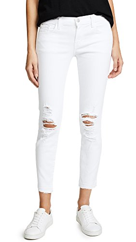 J Brand Jeans Women's 9326 Low Rise Cropped Skinny Jean, Demented, 24 by J Brand Jeans