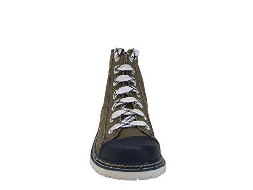 Trachten Herren Sneaker - JACK - helloliv/ruß/d-blau Dunkelblau