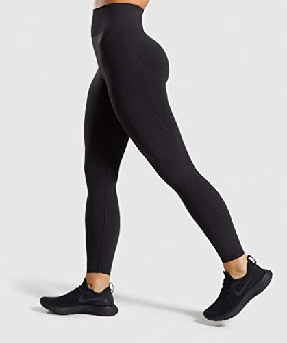 M MOYOOGA Seamless Leggings High Waisted Workout Yoga Gym Leggings for Women