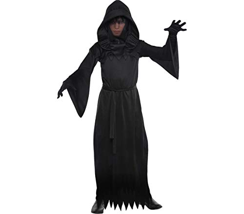 AMSCAN Phantom of Darkness Halloween Costume for Boys, Medium, with Included Accessories -