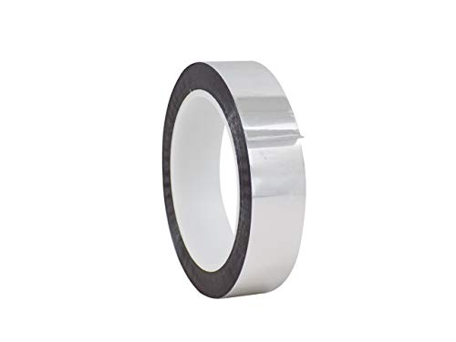 (WOD MMYP-1 Silver Metalized Polyester Mylar Film Tape with Acrylic Adhesive (Available in Multiple Colors & Sizes): 1 in. x 72 yds. Excellent Chemical and Thermal Stability.)