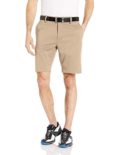 (Amazon Essentials Men's Slim-Fit Stretch Golf Short, Khaki, 33)