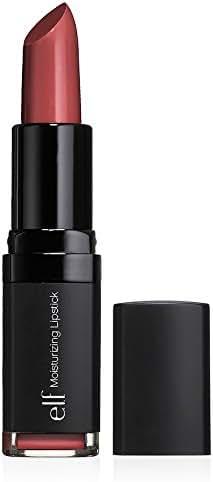 e.l.f. Cosmetics Moisturizing Lipstick, Provides Vibrant Color and Luminous Shine, Ravishing Rose